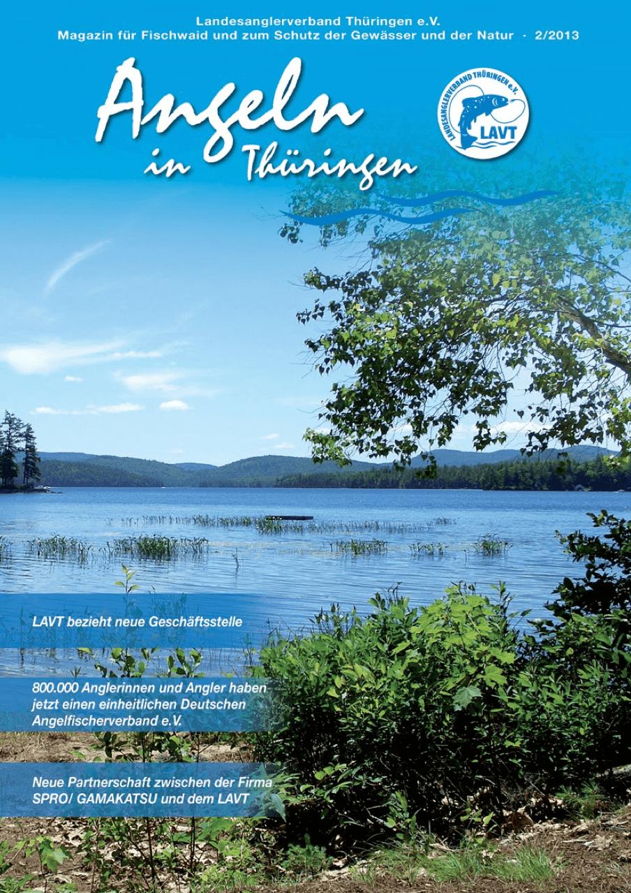 Zeitschrift Angeln in Thüringen
