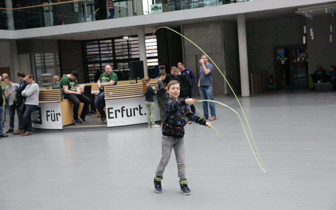 Rückblick – Großes Interesse am Jugendevent des LAVT am 23. Februar 2020 im Atrium der Stadtwerke Erfurt