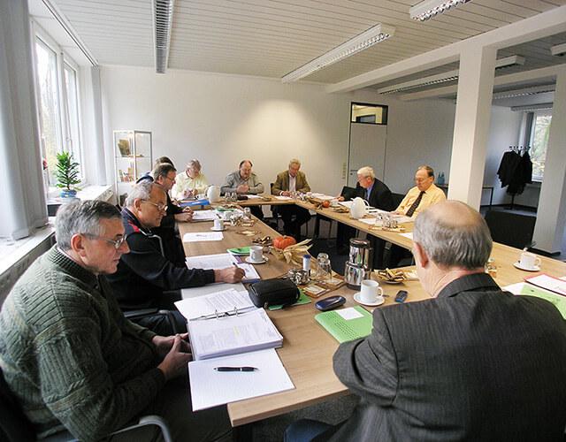 Fortsetzung der Beratung der 12er-Kommission des DAV-VDSF