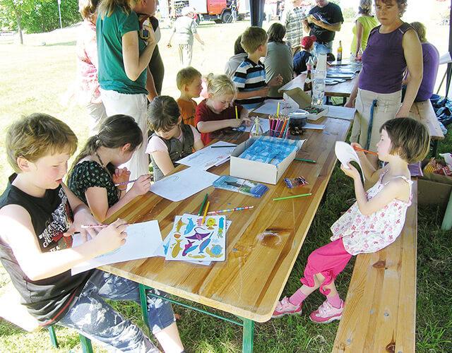 Kinderfest im Naturbad Magdala