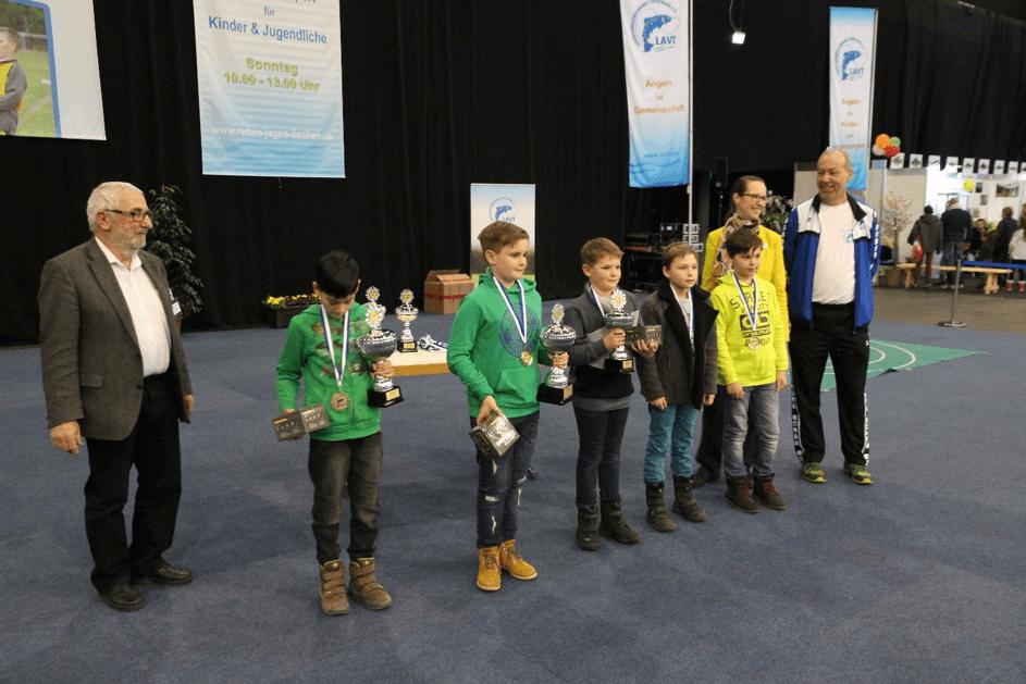 """""""Reiten – Jagen – Fischen"""" 2019 in den Erfurter Messehallen. Der Landesanglerverband Thüringen e.V. präsentieret sich in Halle 1"""