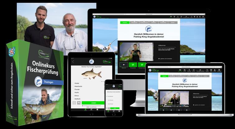 Onlinekurs zur Vorbereitung auf die Fischerprüfung