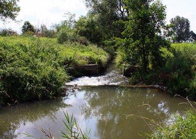 Fließstrecke von Werningshausen, Umfluter der Gramme