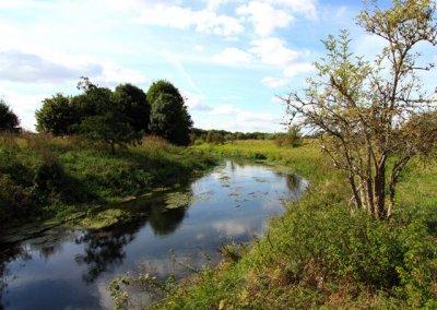 Unstrut Gemarkung Herbsleben